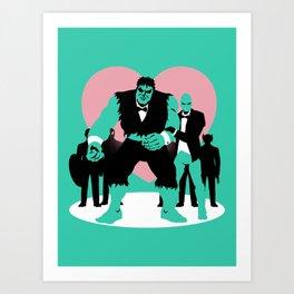 Equality Assemble Art Print