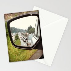 Rear View Traffic Stationery Cards