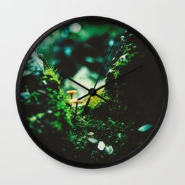 Forest Steps Wall Clock