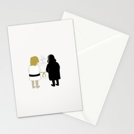 Saber Fight Stationery Cards