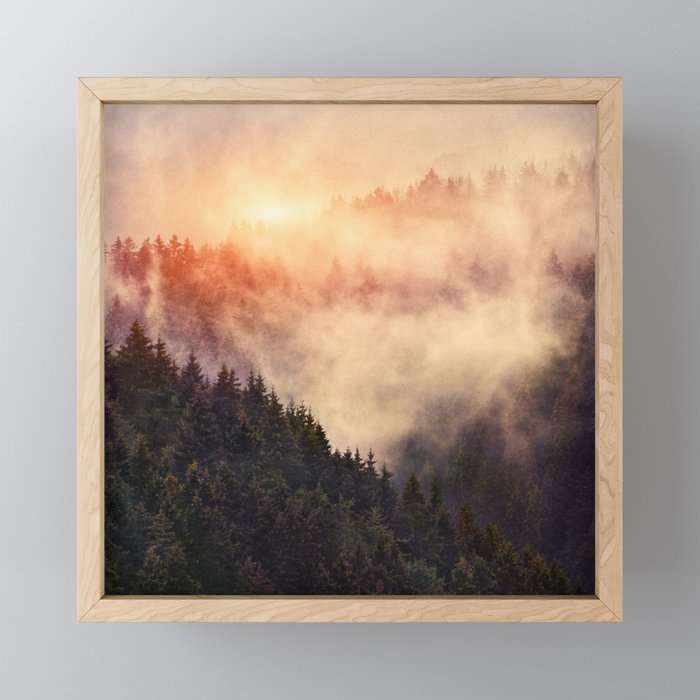 In My Other World Framed Mini Art Print