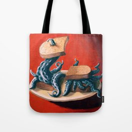 Tentacles On Toast Tote Bag
