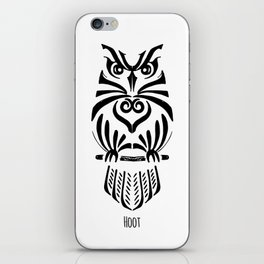 The Owl The Hoots iPhone Skin