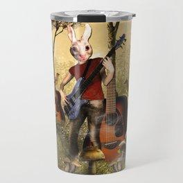 Rabbit Heart Travel Mug