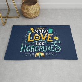 Make Love not Horcruxes Rug