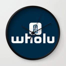 Wholu Wall Clock