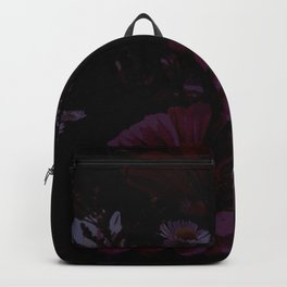 Flowers are always a good idea. Backpack