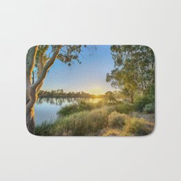 River Sunrise Bath Mat