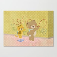 We love drawing Canvas Print