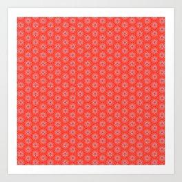 Hexafoil Pattern Art Print