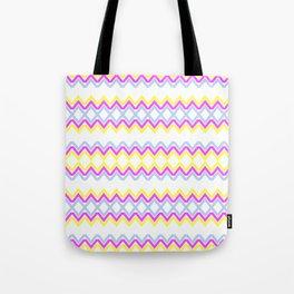 Sweet Color Pattern Tote Bag