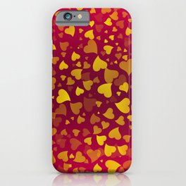 Hearts 2 iPhone Case
