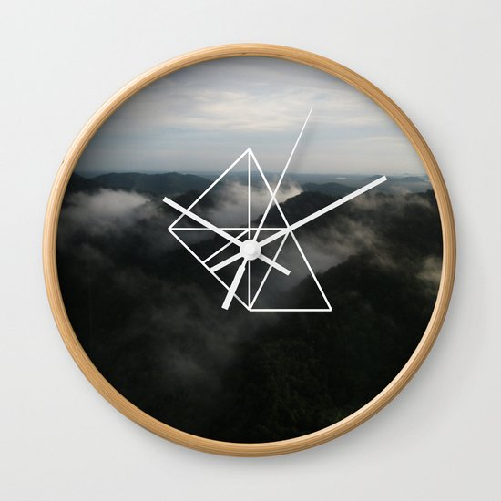 Geometry Wall Clock
