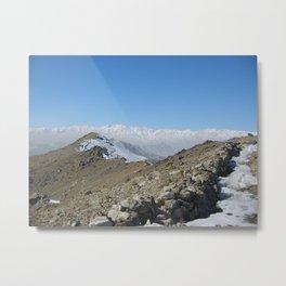 Afghanistan Metal Print