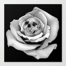 Beauty & Death - Edited Canvas Print