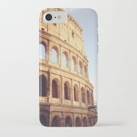 rome iPhone & iPod Cases featuring Rome  by Anna's design