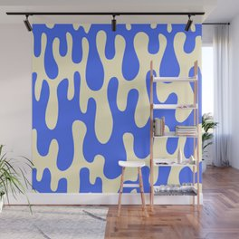 Abstract Drips Wall Mural