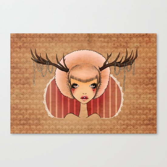 Wicked Pearls Canvas Print