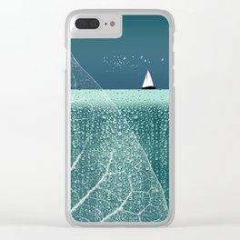 OCEAN WONDERLAND VIII Clear iPhone Case
