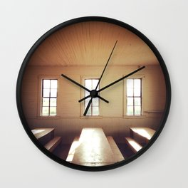 The Old Schoolhouse Wall Clock