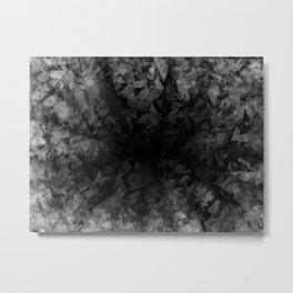 Abstract Radial Gradation Metal Print