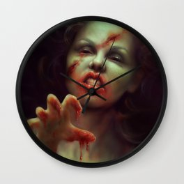To Die For Wall Clock