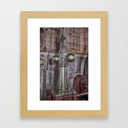 Steam governors Framed Art Print