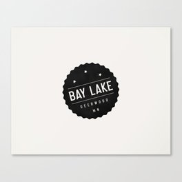BAY LAKE Canvas Print