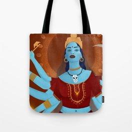 kali, the destroyer Tote Bag