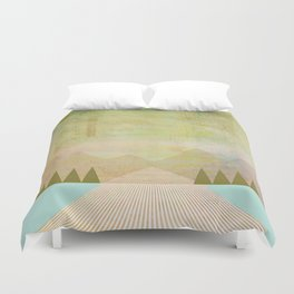 Sights Duvet Cover