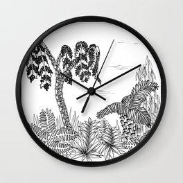Outside I Wall Clock