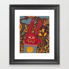 Cyclops Rabbit Framed Art Print