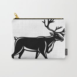 Caribou Walking Side Retro Carry-All Pouch