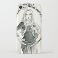 abigail larson iPhone & iPod Cases featuring Abigail Larson by Shana Marie
