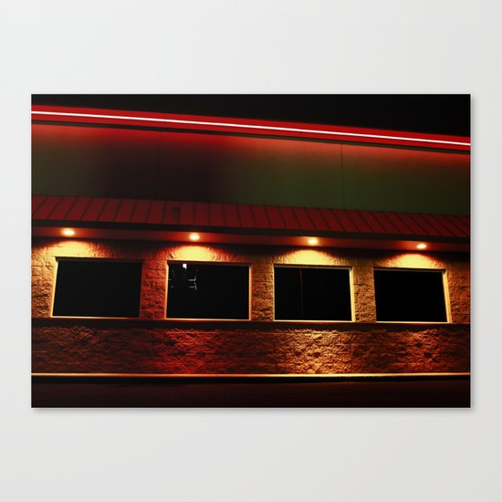 Simply Neon Canvas Print