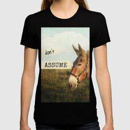 ASS*U*ME T-shirt