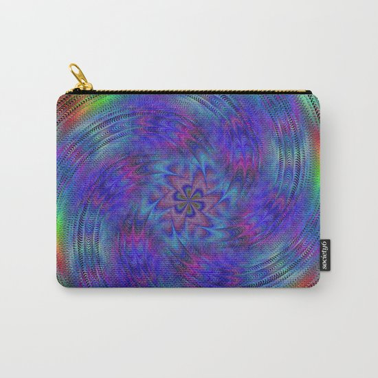 Liquid rainbow Carry-All Pouch
