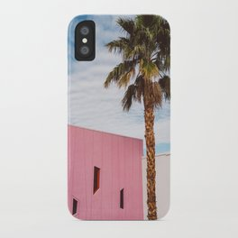 Palm Springs Vibes iPhone Case