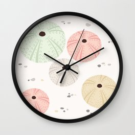 Sea Urchins Wall Clock