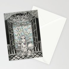 The Boy With An Apple Where His Heart Should Be Stationery Cards