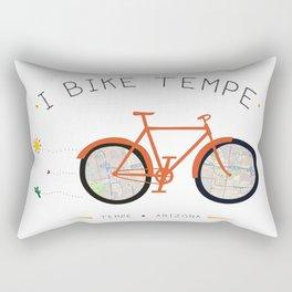 Tempe, AZ by I Bike Rectangular Pillow
