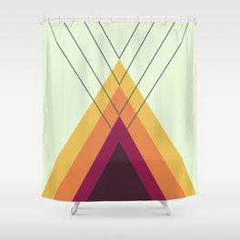 Iglu Vintage Shower Curtain