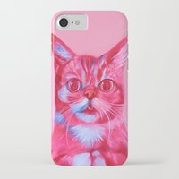 lil bub iPhone & iPod Cases featuring Bub - licious by Jen Mann