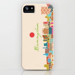 Birmingham Patchwork iPhone Case