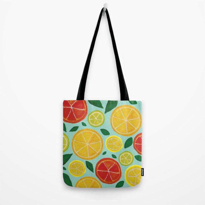 Citrus Delights Tote Bag