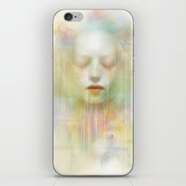 Guardian of souls iPhone Skin
