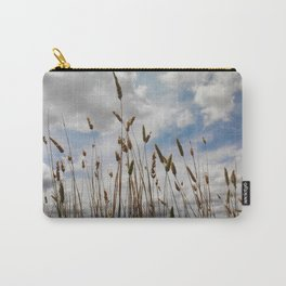 Wheat and Clouds Carry-All Pouch