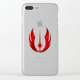 Old Jedi Order Clear iPhone Case