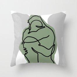 NOODDOOD Lines 15 Throw Pillow