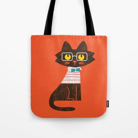 Fitz - Preppy cat Tote Bag